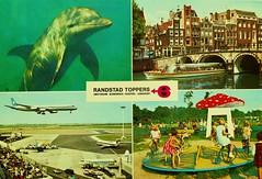 1973 Amsterdam (Steenvoorde Leen - 14.2 ml views) Tags: ansichtkaart briefkaart card postcard kart postkarte cardar postal tarjeta carta korespodenzkarte correspodenzkarte brefort cartolina listek korespodencni old postcards geschiedenis historie history 1973amsterdam 1978friesland