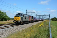 37884. South Marston. 15-07-2019 (*Steve King*) Tags: 37884 class 37 europheonix 313 units scrap newport docks hornsey emu depot south marston swindon 5q78 cutters torch