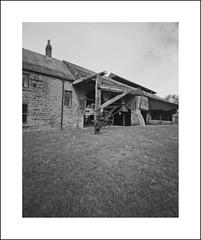 The Forge (oldeyes47) Tags: 4x5 ilford fp4 ilfosol film southyorkshire blackandwhite 16thcenturyironworks industrialheritage wortleytopforge lenslessphotography filmphotography pinholephotography pinholecamera largeformat zeroimage