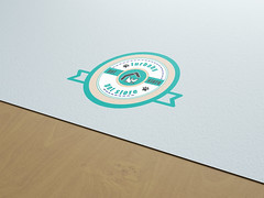 Natural Paper Logo Branding Mockup by Anthony Boyd Graphics (mazu_islam) Tags: mockup psd template modern showcase branding photoshop freegraphicdesignresources graphicdesign free freebie anthonyboydgraphics cinema4d octanerender paper logo natural