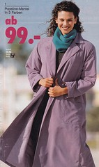 Journey into the past (betrenchcoated) Tags: mantel coat maxicoat trenchcoat raincoat regenmantel 90s vintage scans