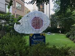Sculpture of plastic bottles (Matt From London) Tags: sculpture plastic bottles stbotolphbishopsgate