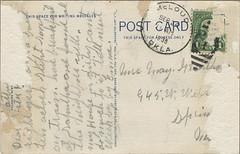 1938 Down in Oklahoma B_2-LR (Boxplan) Tags: postcard oklahoma oklahomacity okc ok okla oklahomacounty americancity historic 20thcentury downinoklahoma oil oilrig poem 1938