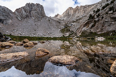 Took a stroll (ScorpioOnSUP) Tags: a7iii bealpha easternsierra inyonationalforest jmt jmt2018 johnmuirtrail marylake owensvalley sierranevada sonyalpha adventure backcountry clouds geology lake landscape landscapephotography mountains nature outdoors reflection rockformation sunrise sunriseglow thruhike wilderness