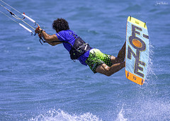 Kitesurfing (2) (iosif.michael) Tags: nikon tamron sports water watersports sea people athlete cyprus kitesurfing