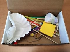 maker box (Wentworth Institute of Technology) Tags: bag box furniture plastic plasticbag shelf wood