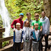 Family vacation to the Pacific Northwest, 2019. Madison Falls and Elwha River.