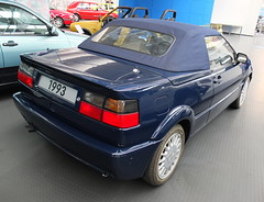 VW Corrado G60 Roadster Concept (Karmann) 1993 (Zappadong) Tags: volkswagen museum wolfsburg 2019 vw corrado g60 roadster concept karmann 1993 zappadong oldtimer youngtimer auto automobile automobil car coche voiture classic classics oldie oldtimertreffen carshow
