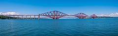 Panorama of the Forth Rail Bridge (Bev & Paul Mynott) Tags: forthrailbridge firthofforth scotland bridges