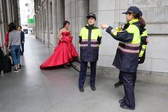(Punksid) Tags: taiwan taipei wedding police fujifilm