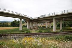 A44: Wehretalbrücke bei Reichensachsen (Helgoland01) Tags: deutschland hessen autobahn a44 brücke bridge germany wehretal motorway