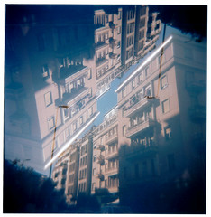 [La Mia Città] Lambrate, il mio nuovo quartiere (Urca) Tags: holgalomo210620196 milano italia 2019 holga lomo doppiaesposizione doubleexposure analog analogico 120 6x6 square medium multi film filmisnotdead toycamera lambrate