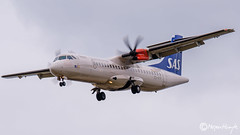 SAS (Nordica), ATR 72-600 (72-212A), ES-ATF, 5477, July 15, 2019-2 (mhoejte) Tags: copenhagenairport ekch cph