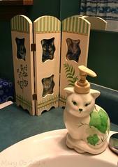 TRIPTYCH July 2019 (llolalane) Tags: cat kitty triptych frame kitties