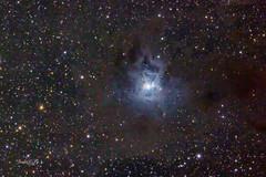 Iris Nebula NGC7023 (exposure=67X5min) (astrochemist2003) Tags: iris nebula dust lanes ngc7023 astrophotography deep sky object atsion new jersey color image
