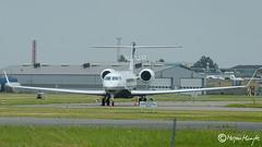 Swiss Jet, Gulfstream Aerospace G-VI Gulfstream G650, HB-JUF, 6118, July 15, 2019 (mhoejte) Tags: copenhagenairport ekch cph
