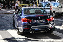 Switzerland (Zug) - BMW M4 Convertible F83 (PrincepsLS) Tags: switzerland swiss license plate zg zug italy milan spotting bmw m4 convertible f83