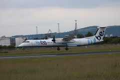 Flybe G-ECOF BHD 09/07/19 (ethana23) Tags: planes planespotting aviation avgeek aeroplane aircraft airplane bombardier dash8 q400 dehavilland dehavillandcanada