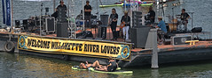 Music Barge (Scott 97006) Tags: band musicians music barge water river entertainment afloat