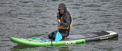 Paddle Boarding (Scott 97006) Tags: woman female lady paddle board float water river fun recreation thrive