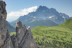 Passo Falzarego (markozorzin) Tags: italy alps tirol nikon unesco alpen unescoworldheritage italie tyrol dolomites rosengarten southtyrol dolomiten seiseralm castelrotto alpedisiusi alpedesiusi kastelroth nikonz6