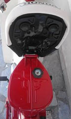 honda cf 50 fuel gauge on c90zz  5.5 lit tank-japanese specs accordingly! (A TEAR FOR YOU GREECE) Tags: ηθειάστρογγύλω honda fuel gauge c70 1982 japan specs restored genuine greece