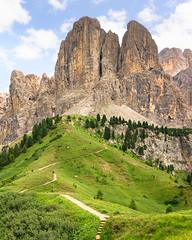 Passo Val Gardena (markozorzin) Tags: italy italie dolomiten dolomites nikonz6 nikon seiseralm alpedisiusi alpedesiusi rosengarten kastelroth castelrotto alpen alps unescoworldheritage unesco southtyrol tyrol tirol passovalgardena gardena valgardena