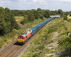 66018 Yew Tree Fm 150719 N63A8134-a2 (Tony.Woof) Tags: 66018 daisy hill 6m16 tees yard knowsley binliner