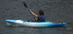 The Paddler (Scott 97006) Tags: kayak paddle river water exercise