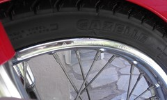 rare raya 1.60x 17 nos rim japan maded (A TEAR FOR YOU GREECE) Tags: ηθειάστρογγύλω honda cub c70 araya rim wheel japan made genuine greece greek 1982