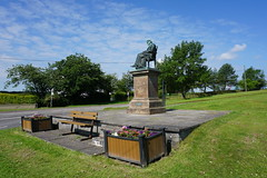 Thomas Carlyle statue at Ecclefechan (stonetemplepilot5) Tags: ecclefechan scotland sony sonya6000 sonyalpha mirrorless statue thomascarlyle