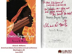 Genesis Begins Again (Lubuto Library Partners) Tags: lubutolibrarypartners lubutolibraries publiclibraries lubuto library africa zambia children youth ovc inscribedbooks authors signatures childrensbooks childrensliterature