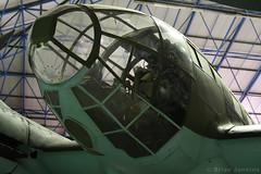 Heinkel He111H-20 Nose (701152) (Bri_J) Tags: rafmuseum hendon london uk museum airmuseum aviationmuseum nikon d7500 heinkel he111 nose 701152 bomber wwii luftwaffe