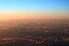 wanderlust (Wackelaugen) Tags: sky clouds sunset flying plane canon eos 760d photo photography stephan wackelaugen