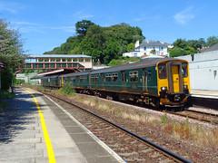 150263 Torre (2) (Marky7890) Tags: gwr 150263 class150 sprinter 2t15 torre railway devon rivieraline train