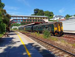 150263 Torre (1) (Marky7890) Tags: gwr 150263 class150 sprinter 2t15 torre railway devon rivieraline train