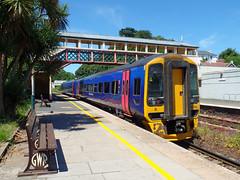 158763 Torre (5) (Marky7890) Tags: gwr 158763 class158 expresssprinter 2a60 torre railway devon rivieraline train