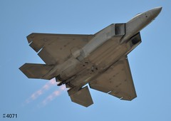 57th WG Lockheed-Martin F-22A Raptor 04-4071 (Wing attack Plan R) Tags: f22a 044071 lockheedmartin raptor 57thwing usaf watailcode afterburner reheat