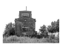 Die Stadt 348 (sw188) Tags: deutschland nrw ruhrgebiet westfalen dortmund lindenhorst zeche fürsthardenberg sw sachlichkeit bw blackandwhite industrielandschaft