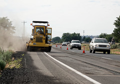 US 12 grind and fill maintenance operation (WSDOT) Tags: us12 maintenance preservation 2019 grindandfill gleed