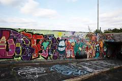 Urban- & Mural Art Spandau, Secret Spot Zwo (bsdphoto) Tags: streetart berlin kunst art urbanart muralart mural urbanarthall secretspotzwo spandau altepost postpackstation ausenaufnahme ausenansicht künstler künstlerin livepainting sprühen sprühdose deutschland