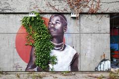 Urban- & Mural Art Spandau, Secret Spot Zwo (bsdphoto) Tags: streetart berlin kunst art urbanart muralart mural urbanarthall secretspotzwo spandau altepost postpackstation ausenaufnahme ausenansicht guidopalmadessa deutschland