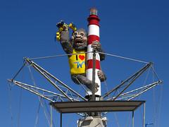 King Kong At The Jersey Shore (Multielvi) Tags: park new amusement pier nj shore jersey wildwood morey moreys car king tram kong boardwalk