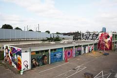 Urban- & Mural Art Spandau, Secret Spot Zwo (bsdphoto) Tags: streetart berlin kunst art deutschland mural urbanart spandau muralart altepost ausenansicht ausenaufnahme urbanarthall postpackstation secretspotzwo