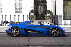 Koenigsegg One:1 (Hunter J. G. Frim Photography) Tags: supercar hypercar london uk koenigsegg one1 blue matte wing carbon turbo swedish koenigseggone1
