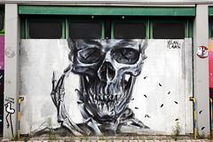 Urban- & Mural Art Spandau, Secret Spot Zwo (bsdphoto) Tags: streetart berlin kunst art urbanart muralart mural urbanarthall secretspotzwo spandau altepost postpackstation ausenaufnahme ausenansicht veganflava deutschland