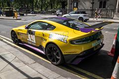 My First (Hunter J. G. Frim Photography) Tags: supercar hypercar london uk aston martin v8 vantage gt8 yellow wing carbon british coupe astonmartingt8 astonmartinv8vantagegt8