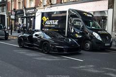 Senna (Hunter J. G. Frim Photography) Tags: supercar hypercar london uk mclaren senna british v8 turbo wing black amethyst mclarensenna twinturbo carbon
