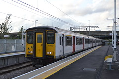 Greater Anglia 317 (Will Swain) Tags: station 4th june 2019 london greater city centre capital south train trains rail railway railways transport travel uk britain vehicle vehicles england english europe transportation class anglia 317 meridian water