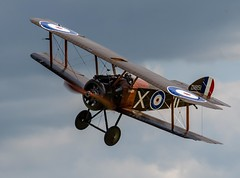 WW1 Sopwith Camel(replica).. (mickb6265) Tags: oldwarden shuttleworthcollection bedfordshire bedford militaryairshow2019 sopwithcamel replica f1 d1851 gbzsc ww1 fighter